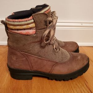 Keen Suede Lace Up Hiking Boots